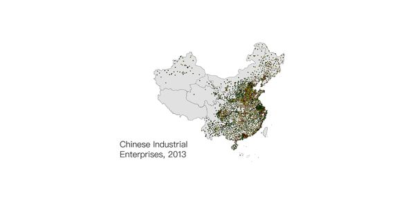 Database for Chinese industrail enterprises, from 2001 to 2013