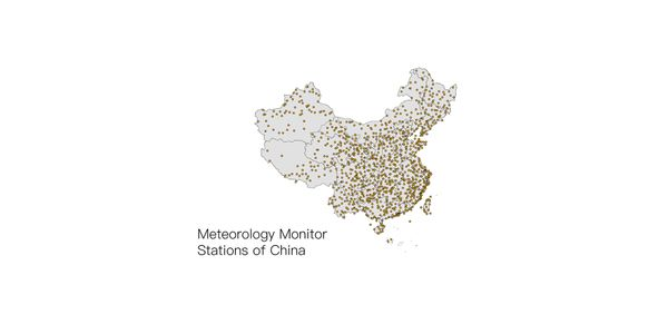 World meteorology monitor station data, from 1950 to now
